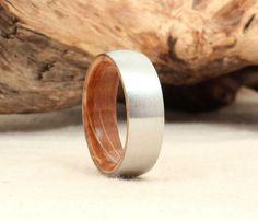 "<a href=""https://www.etsy.com/listing/98048538/cobalt-wooden-ring-lined-with-bourbon"" target=""_blank"">Cobalt Wooden Ring Lined with Bourbon Barrel, $385</a>"