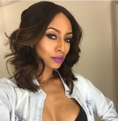 Stupendous Bobs Middle Part Bob And Middle On Pinterest Short Hairstyles Gunalazisus