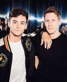 "18 Likes, 1 Comments - Tom & Lance (@tomandlancesa) on Instagram: ""They're so handsome!- I • • • • • • #tomandlance #tustin #tomdaley #dlanceblack…"""
