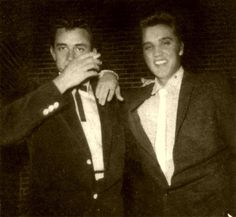 Candid Elvis,   Cash and King.