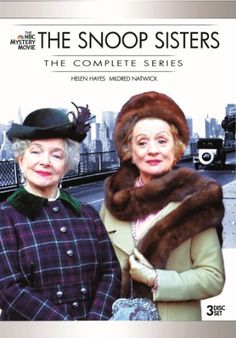Snoop Sisters Complete Series Long before Angela Lansbury brightened TV screens as prime-time s not-so-young literary sleuth in Murder, She Wrote, Mildred Movie List, Movie Tv, Playlists, Movies To Watch, Good Movies, Period Drama Movies, Period Dramas, Helen Hayes, Detective