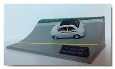 Modellismo statico: Nuova Fiat 500 Abarth Derivazione