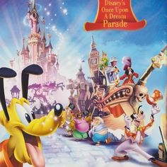 Remember back in 2007 when so much was promised, and Disneyland Paris saw one of the greatest anniversary celebrations of all? Disney Posters, Disneyland Paris, 20th Anniversary, Old And New, Postcards, Disney Characters, Fictional Characters, Disney Princess, Image