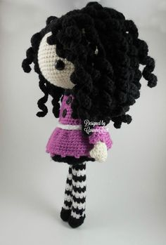 Josefina Amigurumi Doll Crochet Pattern PDF by CarmenRent on Etsy