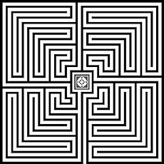 Roman Labyrinths  First developed in the 2nd century BCE, they are found throughout Europe and North Africa, wherever the Romans settled