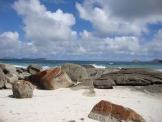 Squeaky Beach, Wilsons Promentary Point, Victoria, Australia