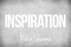 """Board Cover """"Robin Sharma Inspiration"""""""
