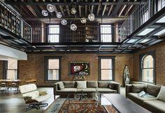 Restyling di un vecchio magazzino a New York | lartdevivre - arredamento online