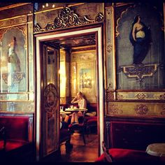 One of the oldest cafes of Italy in continuous operation, Caffè Florian, Venice.