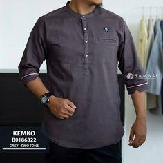 Collarless Shirt Men, Polo Shirt, Mens Tops, Shirts, Clothes, Fashion, Outfits, Moda, Polos