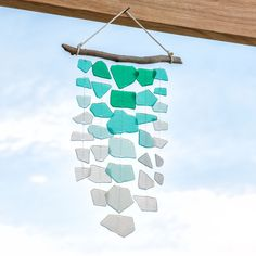 DIY Wind Chimes | Summer Craft | Apostrophe S | Sea Breeze