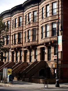 HARLEM - Convent Avenue Brownstones by Professor Bop, via Flickr