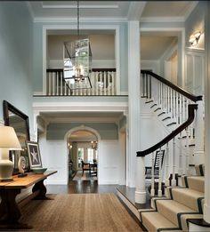 John B. Murray Architect Staircase
