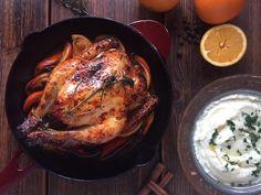 Gamze Mutfakta: Portakal Soslu Fırında Kızarmış Tavuk