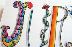 Letter Love 101: Art Journaling