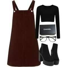 How to wear fall fashion outfits with casual style trends Komplette Outfits, Teen Fashion Outfits, Cute Casual Outfits, Stylish Outfits, Fall Outfits, Mode Grunge, Teenager Outfits, Looks Style, Mode Style