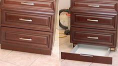 DIY toekick drawer for your cabinets