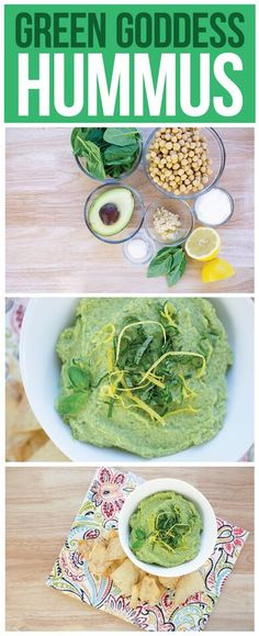 Switch up your hummus with this green delicious twist!