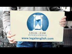Legal-Ease International courses in Legal English Legal Forms, Law Books, I Am Awesome, English, Videos, English Language, Video Clip