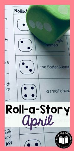 Story Starter Writing for April | Students will roll a dice to identify the story elements - characters, setting, and problem. | Teachers and parents can this resource to motivate writers who never know what to write about, or students who have difficulty coming up with ideas. It's perfect for struggling writers in the classroom! Includes April Fool's Day and Easter story element pages. (Gr. 2-4)