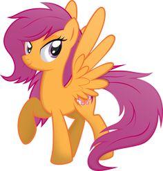 Scootaloo by rainbownspeedash on DeviantArt My Little Pony Scootaloo, Raimbow Dash, Mlp Cutie Marks, My Little Pony Wallpaper, My Little Pony Twilight, Little Poni, Mlp Fan Art, My Little Pony Drawing, Disney Princess Pictures