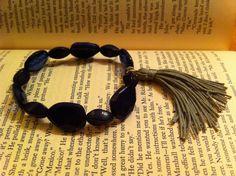 Sapphire Blue Bracelet by ShortPresents on Etsy, $11.50