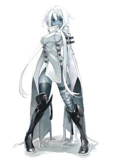 Art of Anime / Manga Female Character Design, Character Design References, Character Design Inspiration, Character Art, Alien Character, Fantasy Anime, Fantasy Girl, Fantasy Characters, Female Characters
