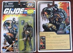 Predator (On G.I. Joe Card) Custom Action Figure