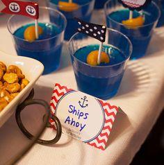 Nautical party: Jackson is 1!