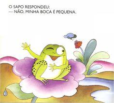 Livro A BOCA DO SAPO, de Mary França e Eliardo França
