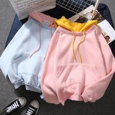 Harajuku Hoodie - Source by celestabolte - Cute Comfy Outfits, Trendy Outfits, Cool Outfits, Tomboy Outfits, Stylish Hoodies, Comfy Hoodies, Sweatshirts, Aesthetic Hoodie, Aesthetic Clothes