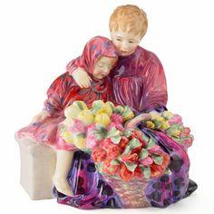 Royal Doulton Figurine - Flower Seller's Children HN1342