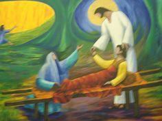 Healing of the widows's son  Luke 7:11-17