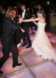 The Monte Carlo Rose Ball takes the lead when it comes to dancing. The Grimaldi clan always have fun at the annual charity event, as Charlotte Casiraghi and her brother Andrea showed here in 2006