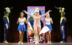 Becky Gulsvig as Elle Woods and the cast of the National Tour of LEGALLY BLONDE the Musical.