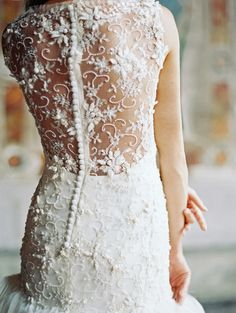 sareh nouri 2014 { This back is too amazing for words } Check out www.plumerestaurant.co.nz for the perfect New Zealand Wedding Venue.