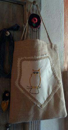 Shopper Bag Pupias - Creazione di Samuela Chilton