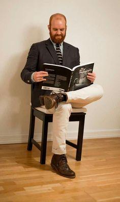 Ready for a new week! #tie #blazer #wolverine