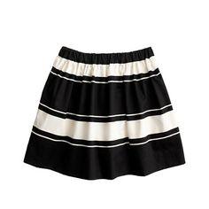 Girls' colorblock stripe skirt - size 12- $39.99
