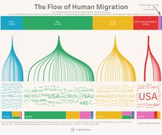 The Flow of Human Migration