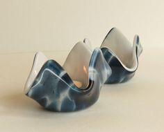 Tealight Holders in Blue Adventurine, Statteam