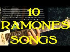 How to Play 10 Songs by THE RAMONES ( Guitar Lesson )