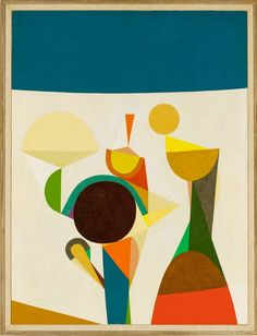 Frederick Hammersley, Growing Gam, 1958, oil on linen.