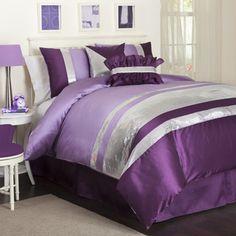 Lush Decor Purple Jewel 6-piece Comforter Set | Overstock.com Shopping - The Best Prices on Lush Decor Teen Comforter Sets