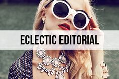 eclectic editorial images | #fashion #photography
