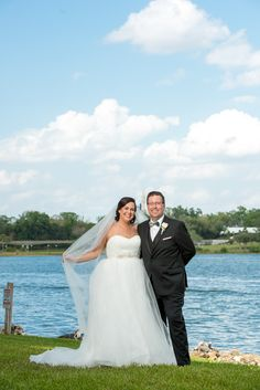 Kristin & Tim's Memories Collection Disney wedding at the Grand Floridian—with a view of Cinderella Castle!