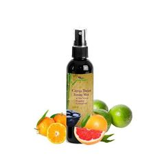 For Beautiful, Supple Skin, don't forget to use Toner! Our organic facial toner will refresh, tighten & tone your pores, while removing trapped dirt or oil. This alcohol-free toning mist is specially formulated with aloe vera, rose floral water and the twist of citrus essential oils. The mild astringent properties of the combined citrus fruit will minimize pore appearance, lock in the moisture and leave your face feeling fresh and revitalized. Suitable for all skin types  $12.95