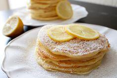 My Name Is Snickerdoodle: Fabulous Food Friday #134 {Lemon Pancakes}