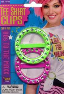 Tee Shirt Clips, what girl my age didn't have these?!