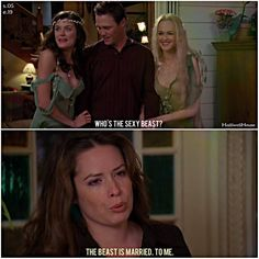 #Charmed... I how I feel when women touch Nate's arm.